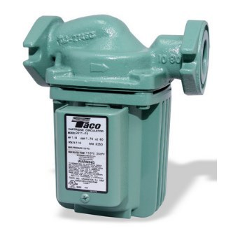CIRCULATOR PUMP 1-1/2 FLANGES 1/8hp TACO, item number: 0012