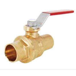 "BALL VALVE FULL PORT 3/4"" CxC S-1001 NO LEAD LEGEND (10)"