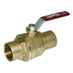 "BALL VALVE FULL PORT 1-1/4"" S-1001 CxC LEGEND (4)"