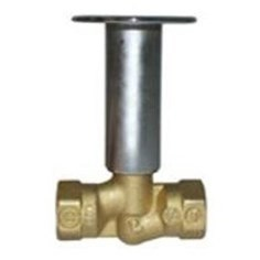 LOG LIGHTER VALVE STRAIGHT POLISHED BRASS LEGEND (25)