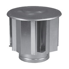 CAP VENT BAFFLED 4in, item number: 1092-4