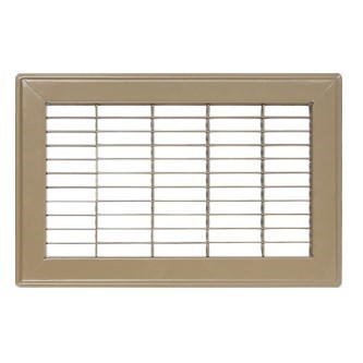 ! GRILLE FLOOR 12inx14in BROWN ACCORD (10), item number: 1201214BR