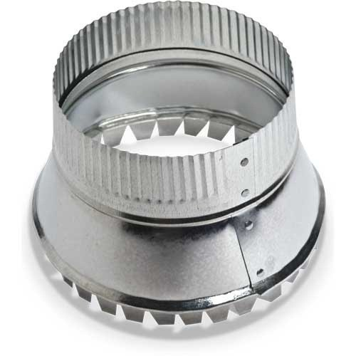 CONICAL SIDE TAKE OFF 12in WITH DAMPER HEATING & COOLING (10), item number: 121-12D
