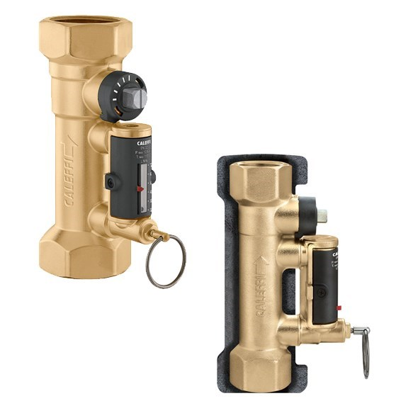 QUICK SETTER VALVE 1-1/4in NPT 5 - 19 GPM CIRCUIT CALEFFI, item number: 132772A