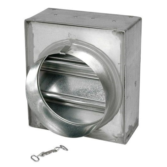 FIRE DAMPER ROUND 8in HORIZONTAL LLOYD, item number: 150C-RD-8