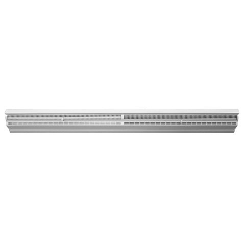 "! DIFFUSER SUPPLY BASEBOARD 24"" WHITE ACCORD (4)"