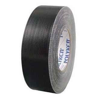 TAPE DUCT 2inx180ft BLACK UL 723 POLYKEN (24), item number: 229-2BLK