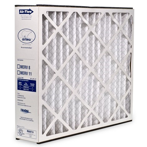 "FILTER REPLACEMENT 16""x25""x3"" MERV 8 TRION"