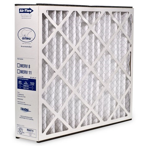 "FILTER REPLACEMENT 20""x25""x5"" MERV 8 TRION"