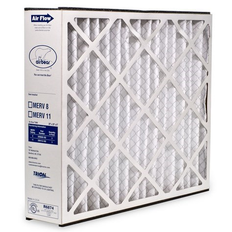 "FILTER REPLACEMENT 16""x25""x5"" MERV 8 TRION"