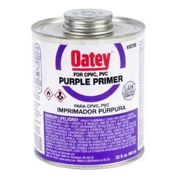 PRIMER PURPLE 16 oz OATEY (24), item number: 30757