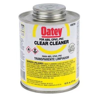 CLEANER PVC CLEAR 16 oz OATEY (24)