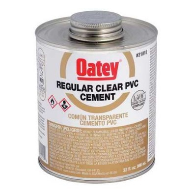 CEMENT PVC CLEAR 32 oz OATEY (12)