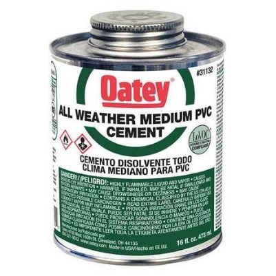 CEMENT ALL WEATHER 16 oz OATEY (24)