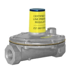 "REGULATOR GAS PRESSURE 1/2"" LEVER UP TO 2 PSI MAXITROL"