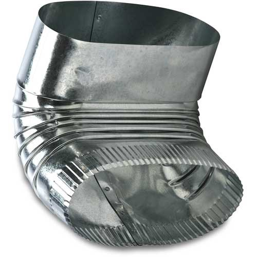 """ELBOW OVAL VERTICAL 6"""" HEATING & COOLING 90 DEG (35)"""