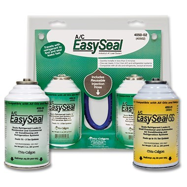 A/C EASY SEAL 3 oz TREATS 1 1/2 TO 5 TONS NU-CALGON (6)