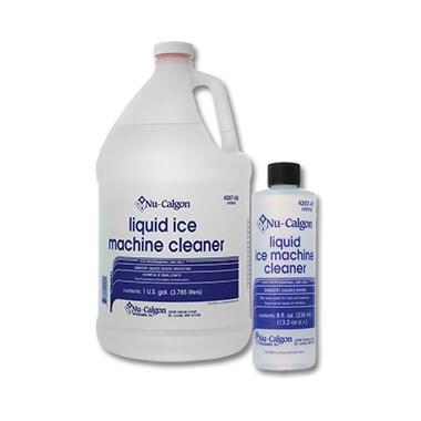 LIQUID ICE MACHINE CLEANER GALLON NU-CALGON (4), item number: 4207-08