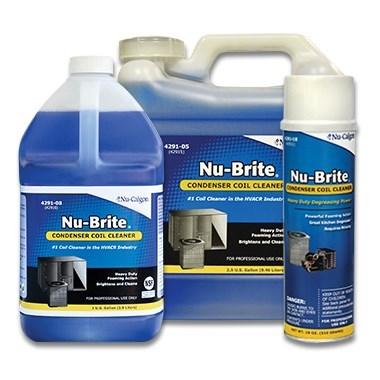NU-BRITE CONDENSER COIL CLEANER NU-CALGON GALLON, item number: 4291-08