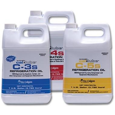 C-3 MINERAL REFRIGERATION OIL 3GS GALLON NU-CALGON (6), item number: 4303-07
