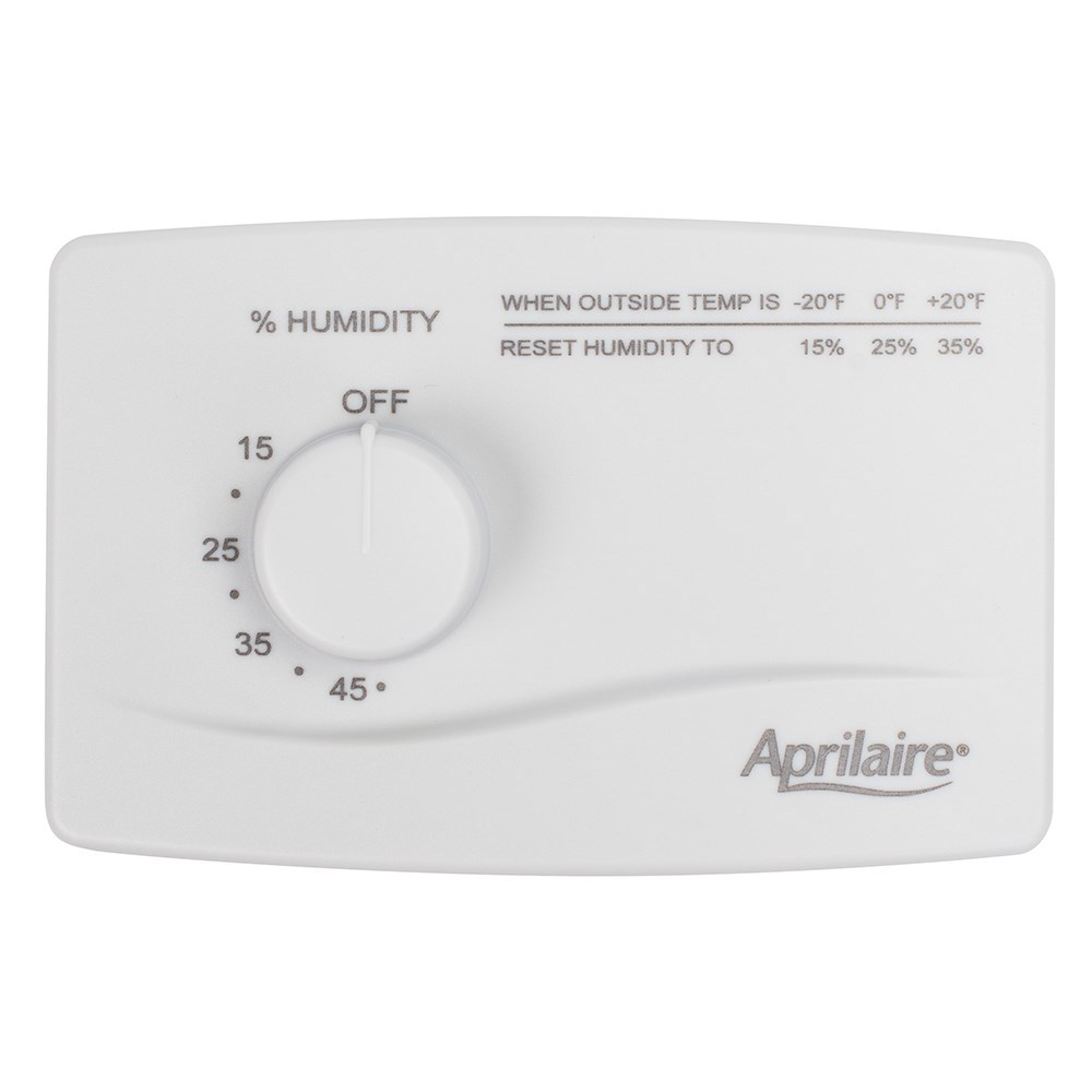HUMIDIFIER CONTROL MANUAL APRILAIRE
