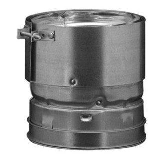 """ADAPTER PIPE UNIVERSAL 4"""" B VENT HART & COOLEY (6)"""