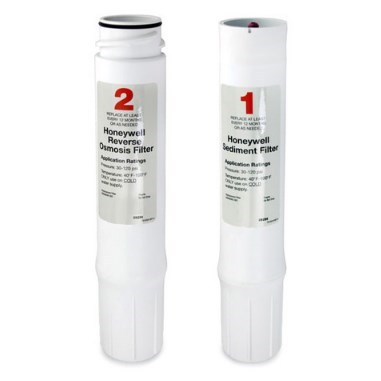 REPLACEMENT FILTERS FOR RO FILTER SYSTEM HONEYWELL