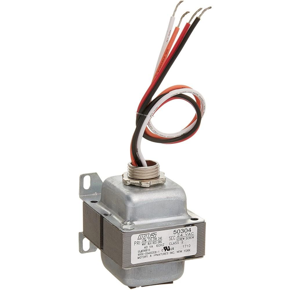 TRANSFORMER  (50304) 120/208/240v 40VA JARD (15), item number: 4031M