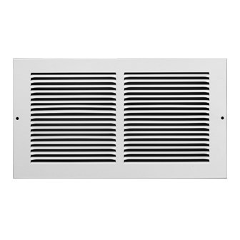 ! GRILLE RETURN AIR 18inx18in WHITE ACCORD (10), item number: 5151818WH