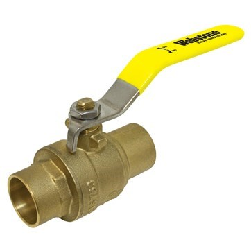 "BALL VALVE FULL PORT 3/4"" SWT NO LEAD WEBSTONE (10)"