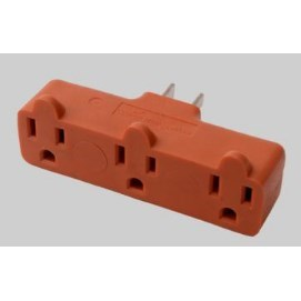 OUTLETS TRIPLE HEAVY DUTY 15amp 125v DEVCO, item number: 5223