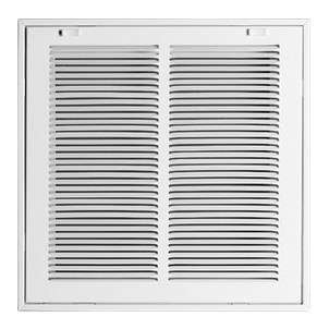 "! GRILLE FILTER RETURN AIR 20""x14"" WHITE ACCORD (5)"