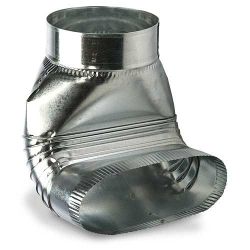 """BOOT ROUND TO OVAL NO CRIMP 6""""x7"""" HEATING & COOLING (20)"""