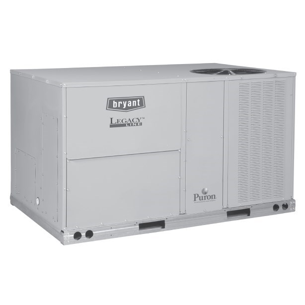 ROOFTOP PURON 3ph 4 ton COOLING 72 mbh HEATING 230v BRYANT