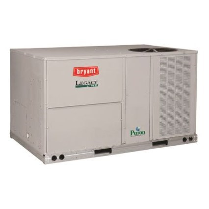 ROOFTOP PURON 3ph 5 ton COOLING 115 mbh HEATING 230v BRYANT, item number: 582JP06A115A2A0AA