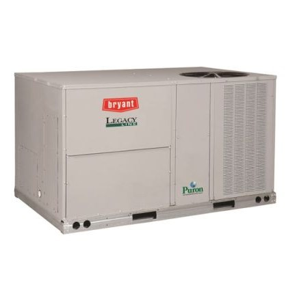 ROOFTOP PURON 3ph 5 ton COOLING 150 mbh HEATING 230v BRYANT