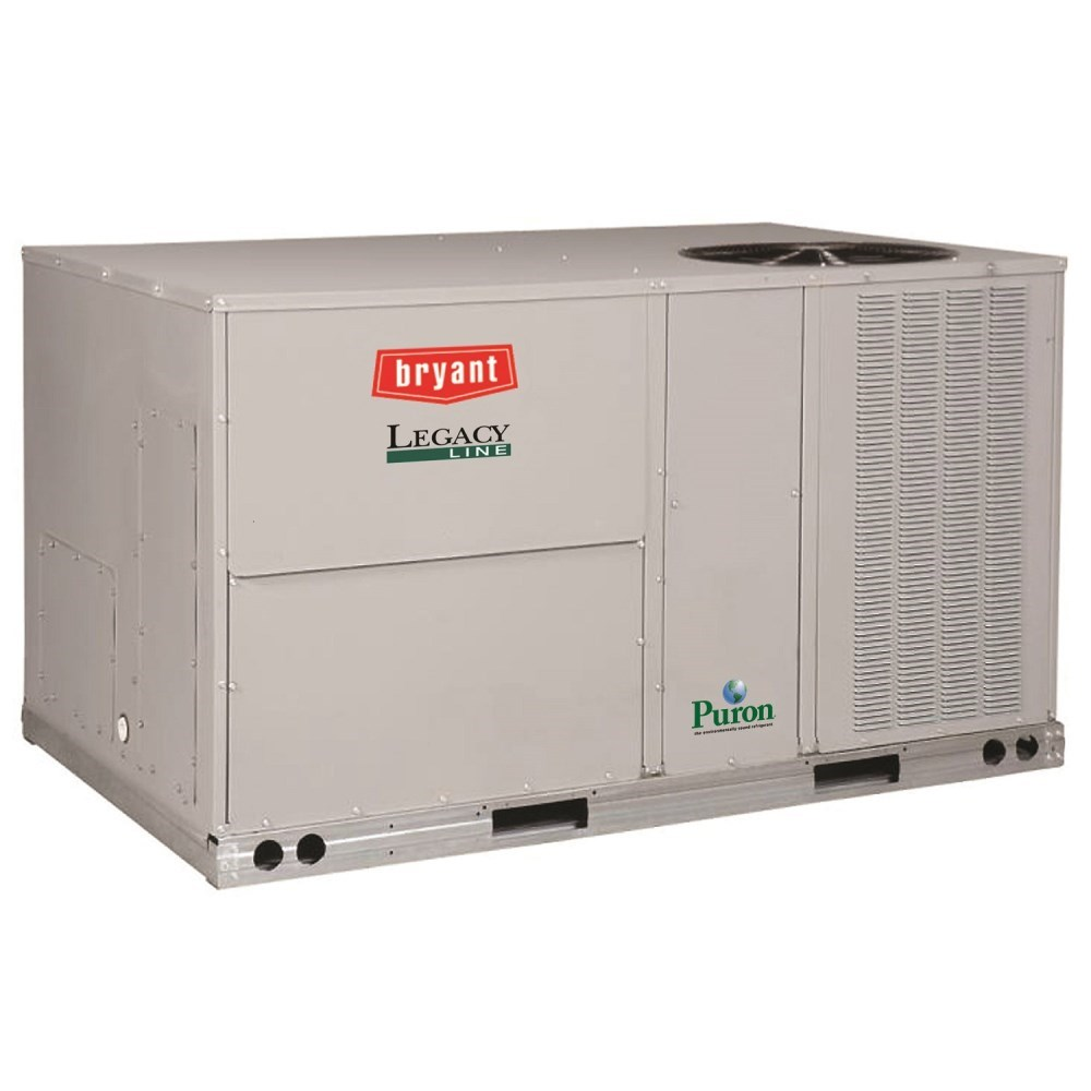 ROOFTOP PURON 3ph 5 ton COOLING 72 mbh HEATING 230v BRYANT, item number: 582JP06A072A2A0AA