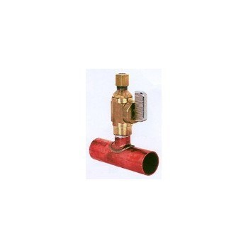 TEE COPPER PUSH BALL VALVE ADD LINE 3/4inx3/4inx1/4in 601-Q30CV, item number: 601-30V