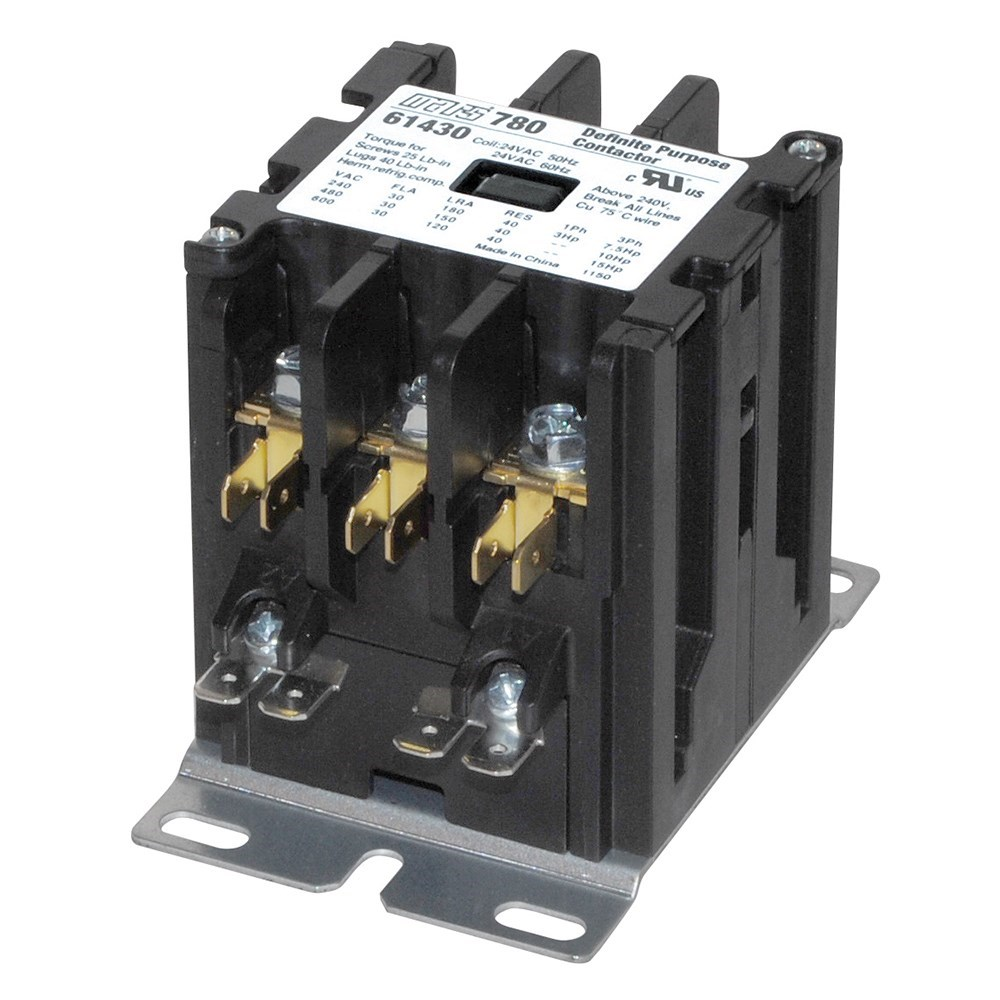CONTACTOR 3 POLE (61430) 30amp 24v  FURNAS (30), item number: 42BF35AJ