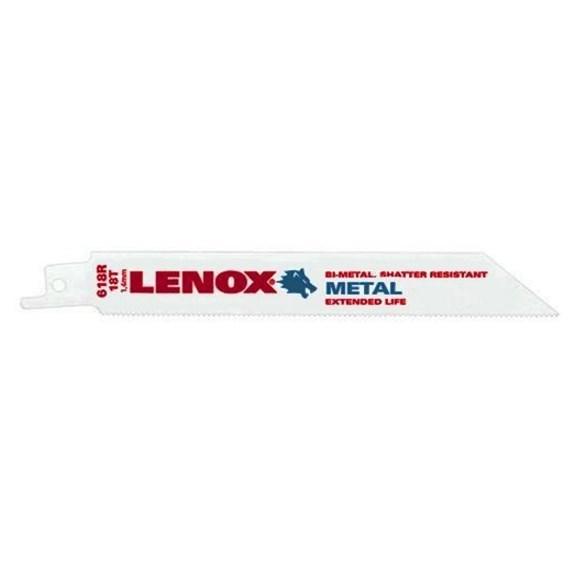 BLADE METAL CUTTING (5 PACK) 18 TEETH PER INCH LENOX (5)