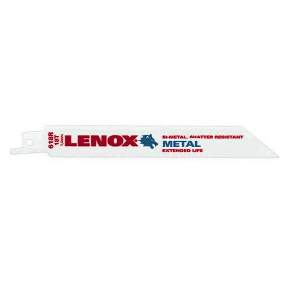 BLADE METAL CUTTING (5 PACK) 18 TEETH PER INCH LENOX (5)