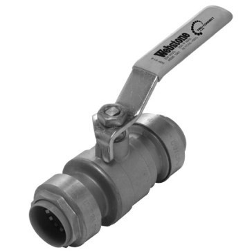 "BALL VALVE FULL PORT 3/4"" PUSH ON WEBSTONE (12)"