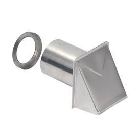 WALL CAP ALUMINUM 3in OR 4in ROUND BROAN (8), item number: 642
