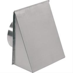 "WALL CAP ALUMINUM  UP TO 8"" ROUND BROAN"