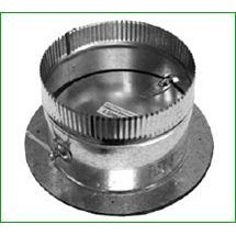 COLLAR PRESS ON 14in 26 ga W/ DAMPER GREENSEAM (5), item number: 6POCR14GA26D