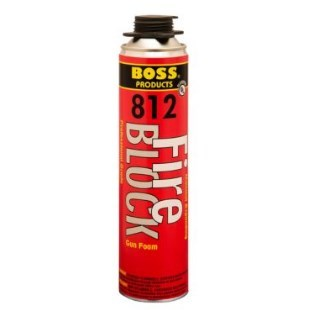 FIRE BLOCK FOAM RED AEROSOL 12 OZ BOSS (12), item number: 81212