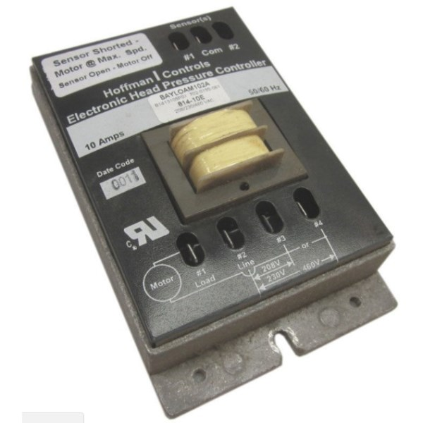 CONTROL HEAD PRESS 208/240v, item number: 814-10E