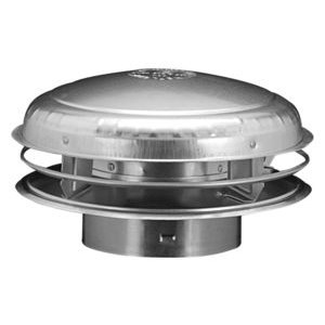 "CAP METAL B VENT 8"" HART & COOLEY (4)"