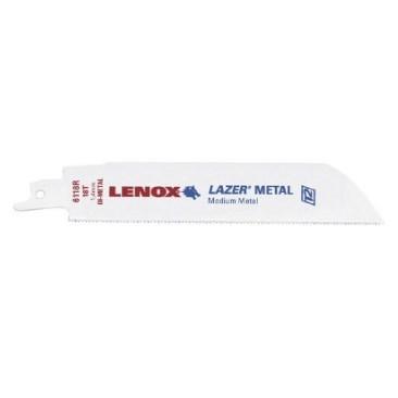 BLADE BIMETAL CUTTING (5 PACK) 10 TEETH PER INCH LENOX LAZER