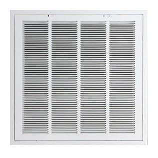 "GRILLE FILTER T BAR 20""x20"" WHITE ACCORD (5)"